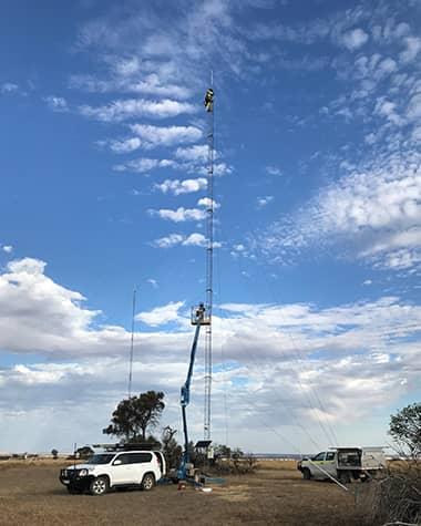 CRISP Wireless Communications Tower